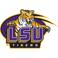 2007-Pres LSU Tigers Secondary Logo Light Iron-on Stickers (Heat Transfers)