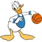 Donald Duck Iron Ons