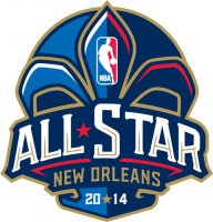 NBA All-Star Game 2013 14 Primary Logo Light Iron-on Stickers (Heat Transfers)