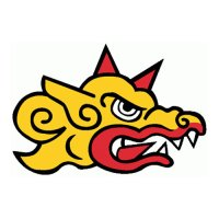 Barcelona Dragons Primary Logos  Light Iron-on Stickers (Heat Transfers)