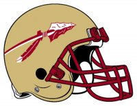 Florida State Seminoles 1976-Pres Helmet Logo Light Iron-on Stickers (Heat Transfers)