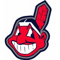 Cleveland Indians Alternate Logo  Light Iron-on Stickers (Heat Transfers)