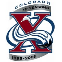Colorado Avalanche Anniversary Logo  Light Iron-on Stickers (Heat Transfers)
