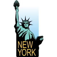 Statue of Liberty Light Iron On Stickers (Heat Transfers) version 1