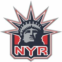 New York Rangers Alternate Logo  Light Iron-on Stickers (Heat Transfers) version 1