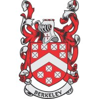 Berkeley Coat of Arms light-colored apparel iron on stickers