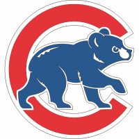 Chicago Cubs Cap Logo  Light Iron-on Stickers (Heat Transfers)