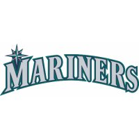 Seattle Mariners Script Logo  Light Iron-on Stickers (Heat Transfers) version 1