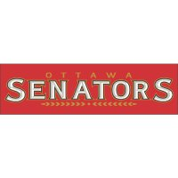 Ottawa Senators Script Logo  Light Iron-on Stickers (Heat Transfers) version 1