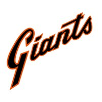 San Francisco Giants Script Logo  Light Iron-on Stickers (Heat Transfers)