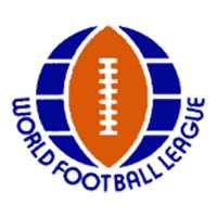 World Football League Primary Logos  Light Iron-on Stickers (Heat Transfers)