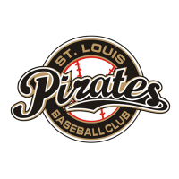 Pittsburgh Pirates Shirt Light Iron-on Stickers (Heat Transfers) 2