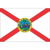 Florida State Flag Light Iron On Stickers (Heat Transfers)