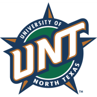 North Texas Mean Green 1995-2004 Secondary Logo Light Iron-on Stickers (Heat Transfers)