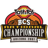 BCS Championship Game Primary Logos  Light Iron-on Stickers (Heat Transfers)