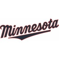Minnesota Twins Script Logo  Light Iron-on Stickers (Heat Transfers) version 3