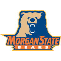 2002-Pres Morgan State Bears Secondary Logo Light Iron-on Stickers (Heat Transfers)