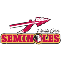 Florida State Seminoles Pres Wordmark Logo Light Iron-on Stickers (Heat Transfers)