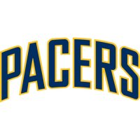 Indiana Pacers Script Logo  Light Iron-on Stickers (Heat Transfers) version 2