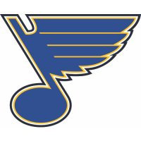 St. Louis Blues Primary Logo  Light Iron-on Stickers (Heat Transfers)