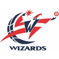 Washington Wizards Primary Logo  Light Iron-on Stickers (Heat Transfers)