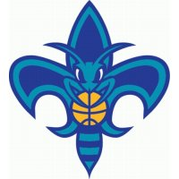 New Orleans Hornets Alternate Logo  Light Iron-on Stickers (Heat Transfers)