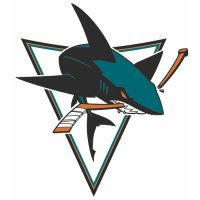 San Jose Sharks Alternate Logo  Light Iron-on Stickers (Heat Transfers) version 1