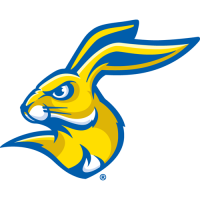 2008-Pres South Dakota State Jackrabbits Partial Logo Light Iron-on Stickers (Heat Transfers)