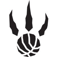 Toronto Raptors Alternate Logo  Light Iron-on Stickers (Heat Transfers) version 3