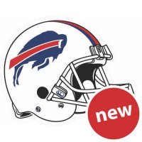 Buffalo Bills Helmet Logo  Light Iron-on Stickers (Heat Transfers)