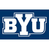 Brigham Young Cougars 2005-Pres Alternate Logo Light Iron-on Stickers (Heat Transfers)