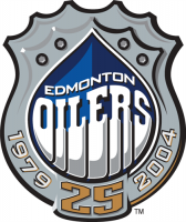 Edmonton Oilers 2003 04 Anniversary Logo Light Iron-on Stickers (Heat Transfers)