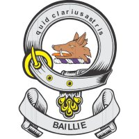 Baillie Clan Badge Light Iron On Stickers (Heat Transfers)