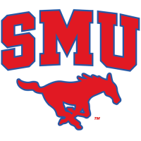 2008-Pres Southern Methodist Mustangs Alternate Logo Light Iron-on Stickers (Heat Transfers)