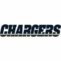 San Diego Chargers Script Logo  Light Iron-on Stickers (Heat Transfers)