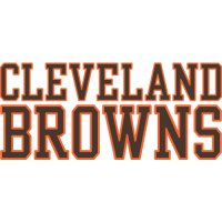 Cleveland Browns Script Logo  Light Iron-on Stickers (Heat Transfers) version 2