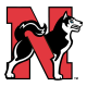 2001-2006 Northeastern Huskies Alternate Logo Light Iron-on Stickers (Heat Transfers)