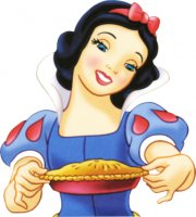 Snow White Baking a Pie