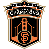 San Francisco Giants 2010 Champion Logo Light Iron-on Stickers (Heat Transfers)