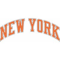 New York Knickerbockers Script Logo  Light Iron-on Stickers (Heat Transfers)