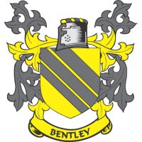 Bentley Coat of Arms light-colored apparel iron on stickers