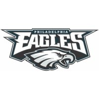 Philadelphia Eagles Alternate Logo  Light Iron-on Stickers (Heat Transfers) version 1