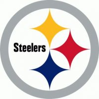 Pittsburgh Steelers Primary Logo  Light Iron-on Stickers (Heat Transfers)