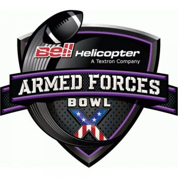 Armed Forces Bowl Primary Logos  Light Iron-on Stickers (Heat Transfers)