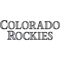 Colorado Rockies Script Logo  Light Iron-on Stickers (Heat Transfers) version 2