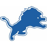 Detroit Lions Primary Logo  Light Iron-on Stickers (Heat Transfers)