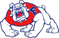 Fresno State Bulldogs 1997-Pres Primary Logo Light Iron-on Stickers (Heat Transfers)