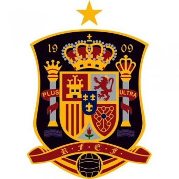Spain Football Confederation Light Iron-on Stickers (Heat Transfers)