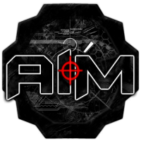 Aim Armed Imperial Military logo