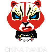 Chinese Panda light t shirt iron on transfer